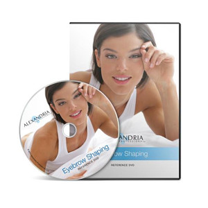 Eyebrow Shaping with Alexandria Professional Sugar Paste DVD