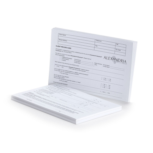 Client Reference Cards